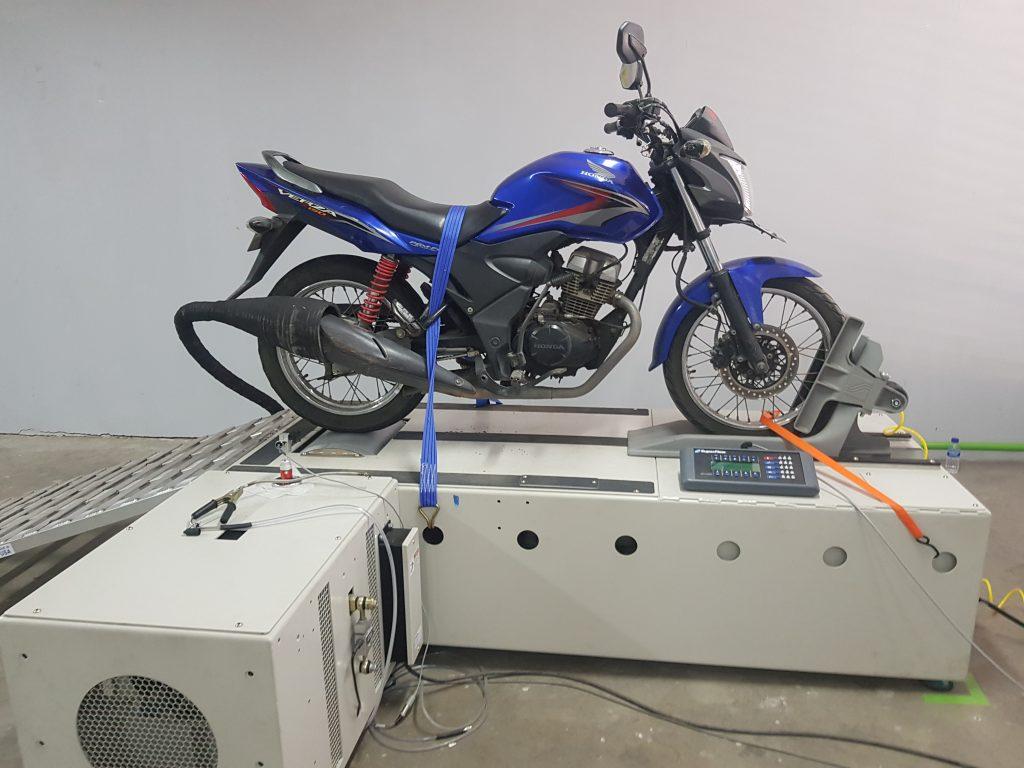 Chassis Dynamometer untuk Motorcycle